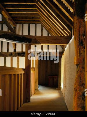 Southampton Medieval Merchants House. Interior. - Stock Photo