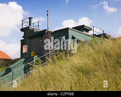 York Cold War bunker. General view of exterior. 1961 - Stock Photo