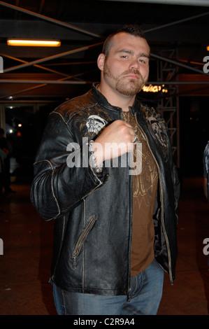 Tim Sylvia Professional mixed martial arts (MMA) fighters depart Del Frisco's restaurant New York City, USA - 22.05.08 - Stock Photo