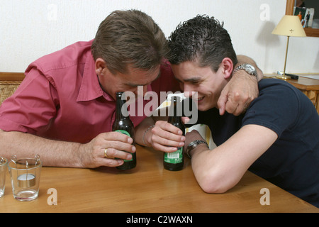 Alcoholic gay father