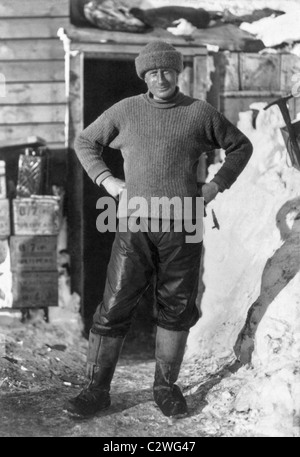 Dr Edward Wilson (1872 - 1912) - a member of Robert Scott's Terra Nova Expedition that perished after reaching the - Stock Photo