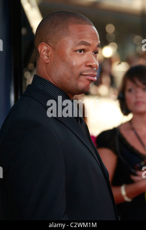 Xzibit World Premiere of The X Files 'I want to Believe' at the Grauman Chinese theater in Hollywood Los Angeles, - Stock Photo