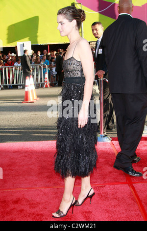 Amanda Peet World Premiere of The X Files 'I want to Believe' at the Grauman Chinese theater in Hollywood Los Angeles, - Stock Photo