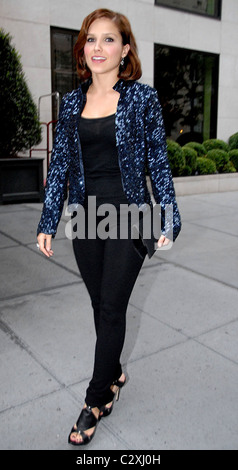 Sophia Bush 'One Tree Hill' star out and about in Manhattan New York City, USA - 29.08.08 Patricia Schlein/ - Stock Photo
