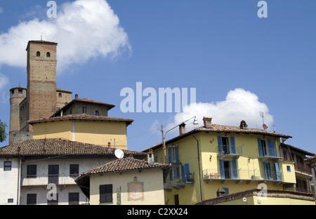 Serralunga d'Alba, Piemont, Italy - Stock Photo