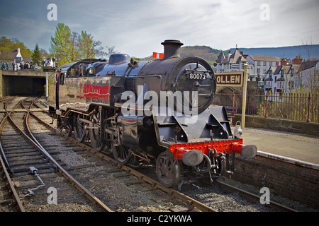 Steam Locomotive Company Limited former British Railways Riddles 'Standard ' 4MT 2-6-4T locomotive number 80072 - Stock Photo