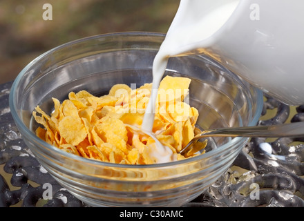 Cornflakes - Stock Photo