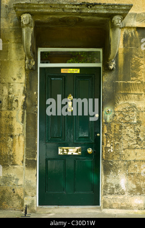 Elegant Georgian style doorway in Chipping Campden, The Cotswolds, Gloucestershire - Stock Photo
