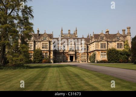 Corsham Court, Wiltshire, UK - Stock Photo