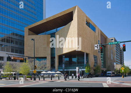 Mint Museum in downtown Charlotte North Carolina - Stock Photo