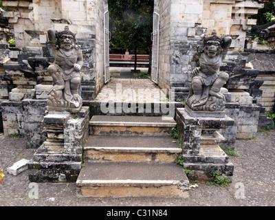Pura Luhur Ulu Wata Temple, South Bali, Indonesia - Stock Photo