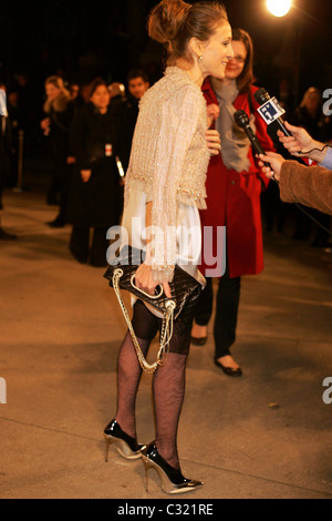 Sarah Jessica Parker Opening Party for Mobile Art: Chanel Contemporary Art Container in Central Park New York City, - Stock Photo