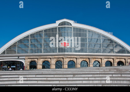 Lime Street railway station Liverpool, UK - Stock Photo