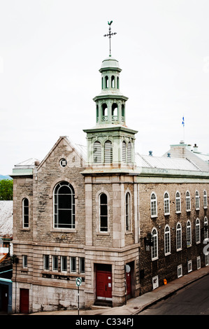The Jesuit Chapel in Old Quebec city dates back to the 18th century. - Stock Photo