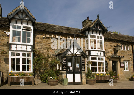 England Derbyshire Peak district Edale Old Nag's Head Inn