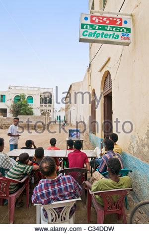 Daily life, Massawa, Eritrea - Stock Photo