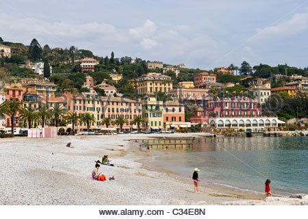 santa margherita ligure, liguria, italy - Stock Photo