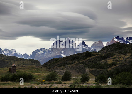 Views in Torres del Paine, Patagonia, Chile, South America. - Stock Photo