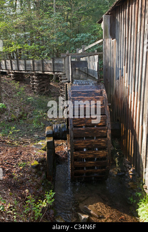 Great Smoky Mountains National Park, Tennessee - The John P. Cable Grist Mill in Cades Cove. - Stock Photo