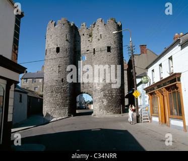 Drogheda,Co Louth,Ireland;View Of St Laurence's Gate - Stock Photo