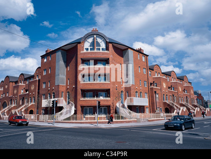 Exellent Modern Architecture Dublin Apartment Building In Stock Photo With Ideas