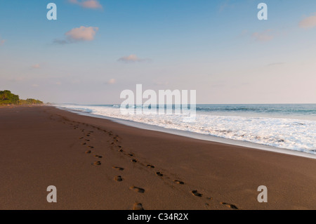 Hermosa Beach Pacific Ocean Costa Rica - Stock Photo