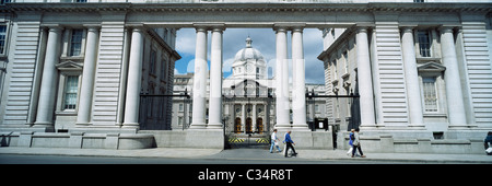 Dublin,Co Dublin,Ireland;Exterior View Of The Department Of An Taoiseach - Stock Photo