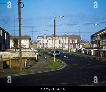 View Along A Street - Stock Photo