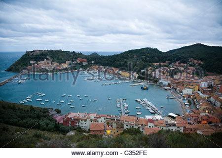 porto ercole,argentario,tuscany,italy - Stock Photo