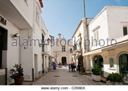 Anacapri,Hagia Sophia,Campania,Italy - Stock Photo