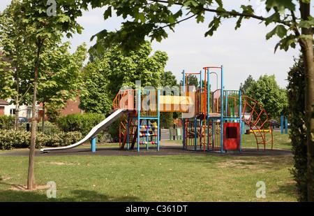 Childrens playground - Stock Photo