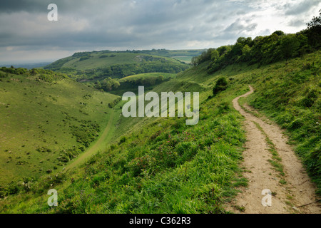 Devils Dyke, West Sussex. - Stock Photo