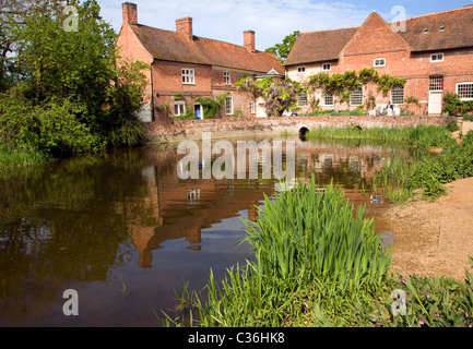 Flatford mill field studies council building Suffolk England - Stock Photo