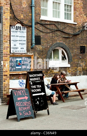 Backyard Market, The Old Truman Brewery, Brick Lane ...