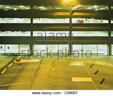 A dark empty parking garage stock photo royalty free for Garage orleans auto