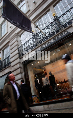 Austin Reed Store on Regents Street - Stock Photo