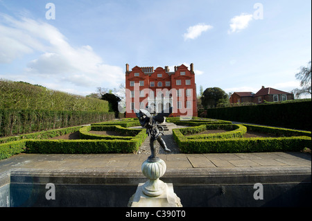 Kew Palace in Royal Botanic Gardens, Kew - Stock Photo