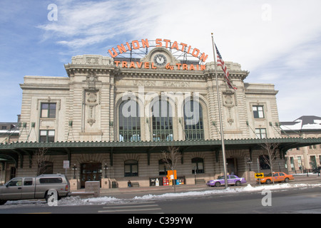 Union Station, Denver, Colorado, USA - Stock Photo