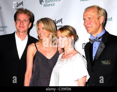 Matthew Modine, Paula Zahn and Mary Stuart Masterson, Guest Rainforest Alliance 2009 Annual Gala New York City, - Stock Photo