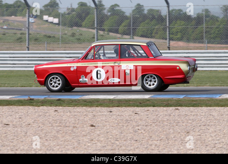 Ford Lotus Cortina Mk1 1965 - Stock Photo