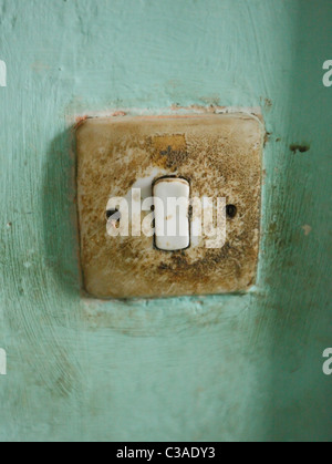 Light switch - Stock Photo