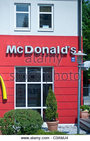 McDonalds Germany - Stock Photo