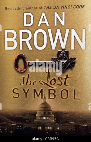 Dan Brown The Lost Symbol Book Cover Stock Photo 50860818 Alamy