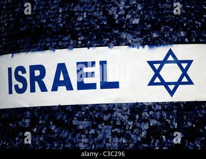 Israel. Star of David. - Stock Photo