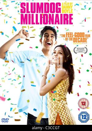Patel Poster Slumdog Millionaire 2008 Stock Photo Alamy
