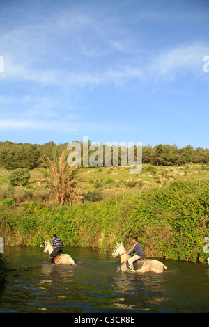 Israel, Lower Galilee, Ein Ivka in Wadi Zippori - Stock Photo