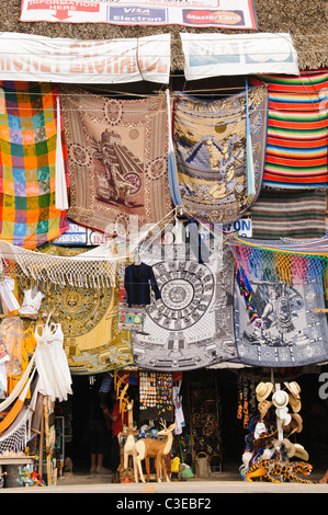 Tourist Shop Selling Souvenirs At The Ancient City Of