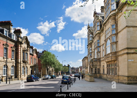 Wakefield Town Centre West Yorkshire Uk Stock Photo