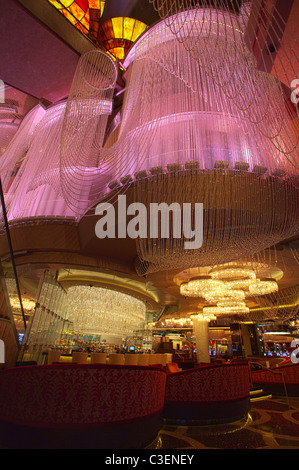 The Chandelier Bar at the Cosmopolitan Hotel & Casino in Las Vegas ...