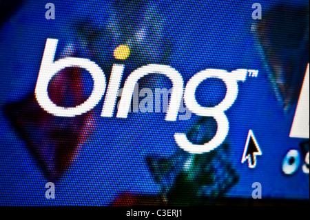 Bing Search Engine Online Website Screen Shot Stock Photo 35797121